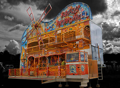 Photograph - Funfair Revisited by Chris Day