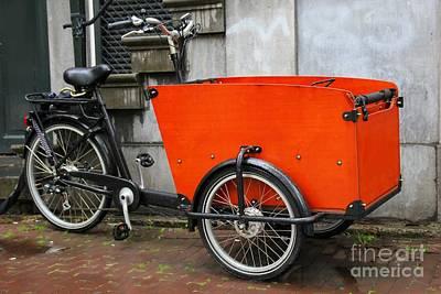 Funky Bike Art Print by Sophie Vigneault