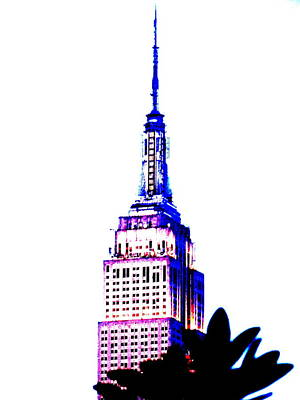 Funk Art Wall Art - Photograph - Funky Empire State In Ny by Funkpix Photo  Hunter d7db2e937b17