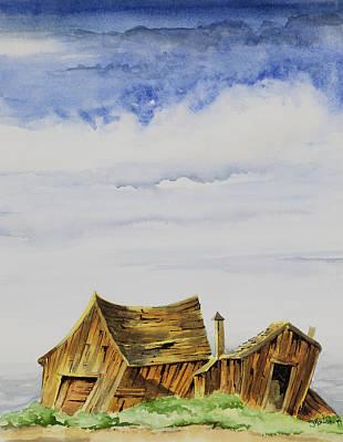 Painting - Funky Little Shacks by Richard Mordecki