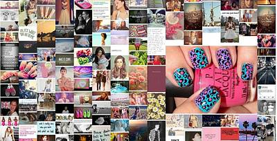 Holley Jacobs Photograph - Funky Nails by Holley Jacobs