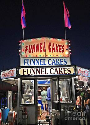 Photograph - Funnel Cakes by Joan Meyland