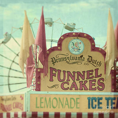 Funnel Cakes Art Print by Sylvia Cook
