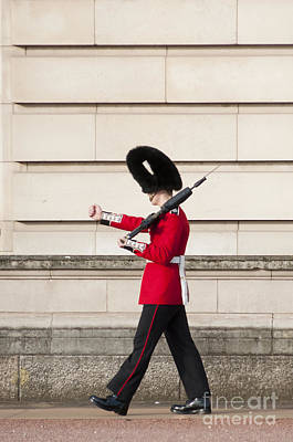 Buckingham Palace Photograph - Funny Walk by Andrew  Michael