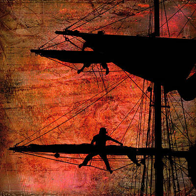 Photograph - Furling Sail by Fred LeBlanc