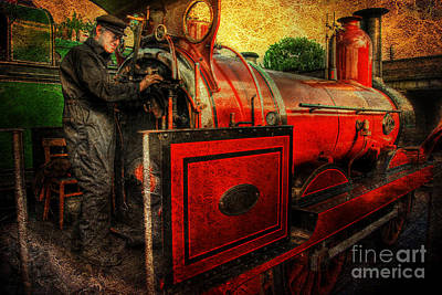 Photograph - Furness Railway Number 20 V2.0 by Yhun Suarez