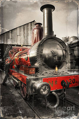 Photograph - Furness Railway Number 20 by Yhun Suarez