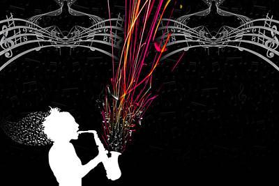 Fused Series - The Color Of Music Original by Erik Hovind