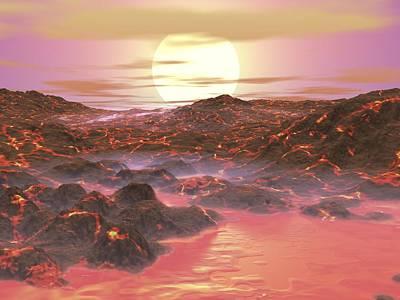 Future Earth, Artwork Art Print