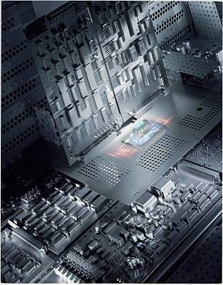 Digitally Manipulated Photograph - Future Electronics by Richard Kail