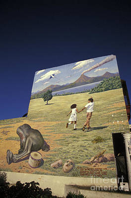 Photograph - Future Of Nicaragua Mural by John  Mitchell