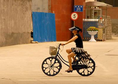Futuristic Cyclist Original