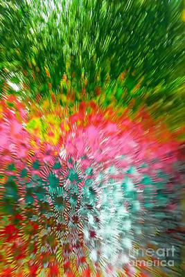 Fuzzy Multicolour Texture Original by Volodymyr Chaban