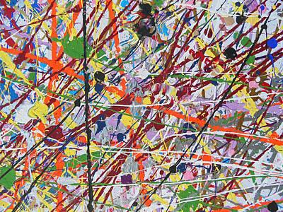 Painting - Fyr Art Work 1 by Cyryn Fyrcyd