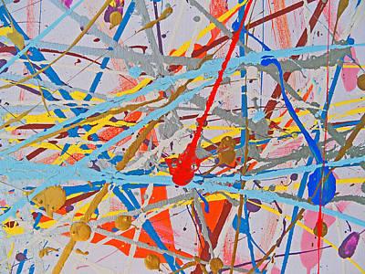 Painting - Fyr Art Work 10 by Cyryn Fyrcyd