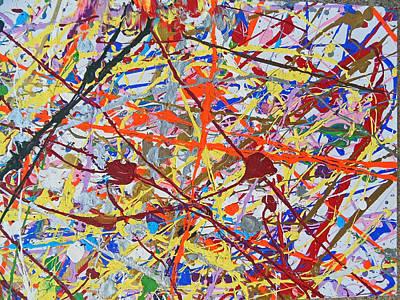 Painting - Fyr Art Work 2 by Cyryn Fyrcyd