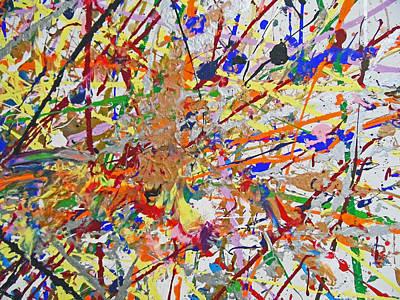 Painting - Fyr Art Work 4 by Cyryn Fyrcyd