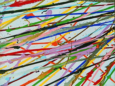 Painting - Fyr Art Work 8 by Cyryn Fyrcyd
