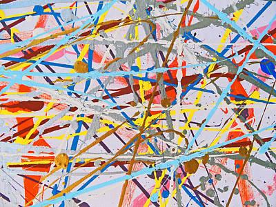 Painting - Fyr Art Work 9 by Cyryn Fyrcyd