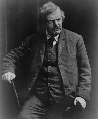2008-2 Photograph - G. K. Gilbert Keith Chesterton by Everett