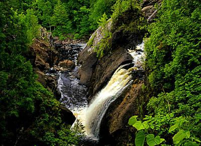 Photograph - Gabbro Falls In The Summertime by Matthew Winn