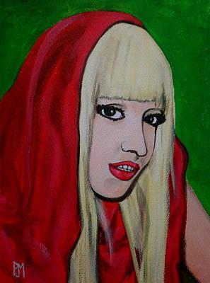 Gaga Hood Art Print by Pete Maier