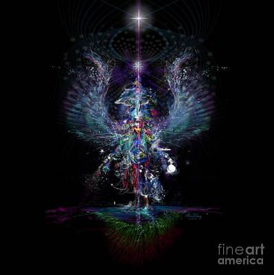 Gaia Birthing New Earth Art Print