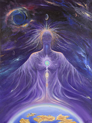 Gostanza Painting - Gaia's Awakening by Teresa Gostanza