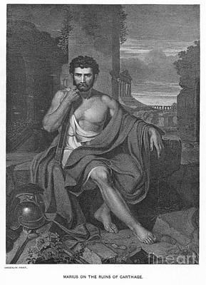 Marius Photograph - Gaius Marius (155?-86 B.c.) by Granger