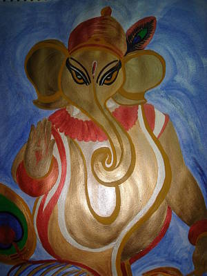 Painting - Gajodhar by Seema Sharma