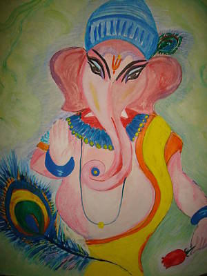 Painting - Gajodhar2 by Seema Sharma