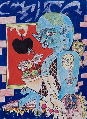 Galactic Invitation Accepted Art Print by Eliza Furmansky