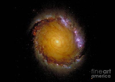 Photograph - Galaxy Ngc 1512 by Nasa