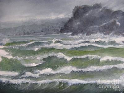 Painting - Gale Force by Ronald Tseng