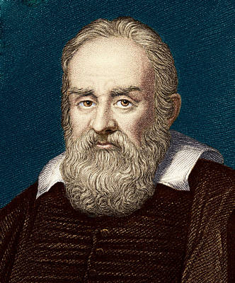 1636 Photograph - Galileo Galilei, Italian Astronomer by Sheila Terry