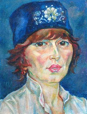 Galina Solovieva Print by Leonid Petrushin