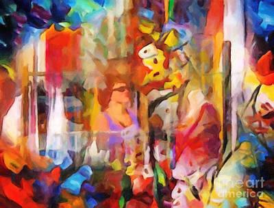 Colorplay Painting - Galleria by Lutz Baar
