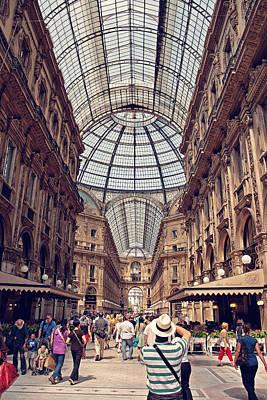 Galleria Vittorio Emanuele Art Print by Benjamin Matthijs