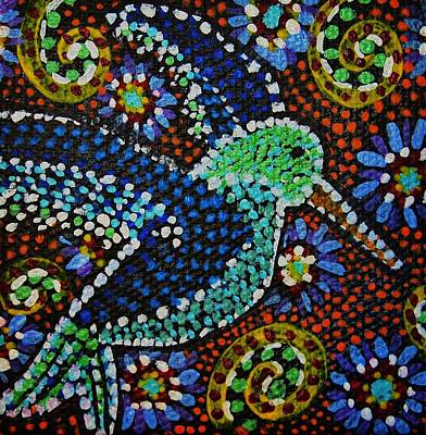 Painting - Gamas Humming Bird by Kelly Nicodemus-Miller