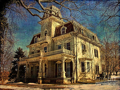 Gambrill Mansion Art Print by Lianne Schneider
