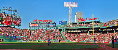 Boston Red Sox Photograph - Game Day by Joann Vitali