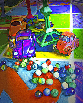 Toy Digital Art - Game Over Iv by Carla G Art Nitkey