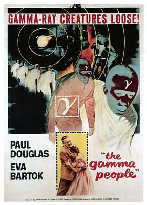 Gamma People, Bottom From Left Paul Art Print by Everett