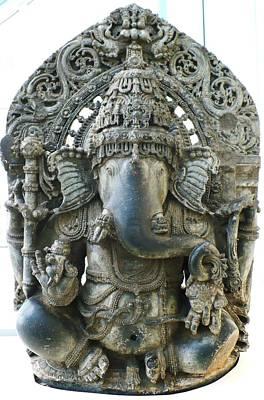 Ganesha Art Print by James Mancini Heath