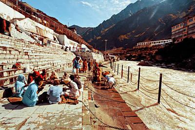 Ashram Wall Art - Photograph - Ganges At Badrinath by John Battaglino