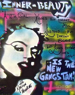 Liberal Painting - Gangstah Monroe by Tony B Conscious