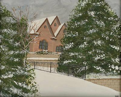 Kugler Painting - Garamond Residence by Scott Kugler