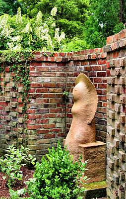 Nashville Tennessee Photograph - Garden Art by Kristin Elmquist