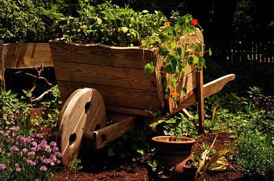 Albert Bierstadt - Garden Cart by Mark Valentine