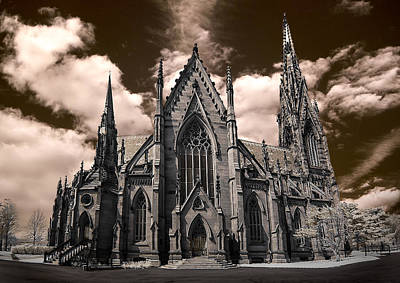 Photograph - Garden City Cathedral Hz by Steve Zimic